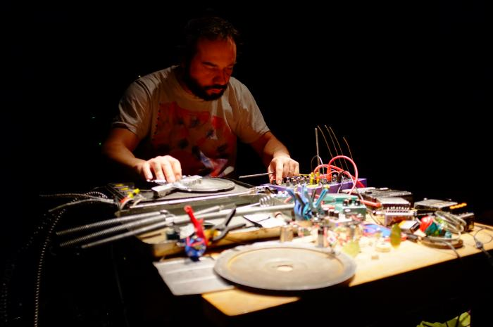 audiograft 2016, Arnaud Riviere (photo credit: Pier Corona)