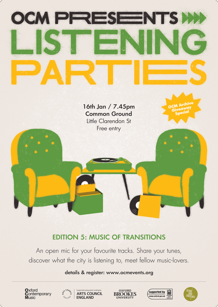 Listening Parties Jan 2020