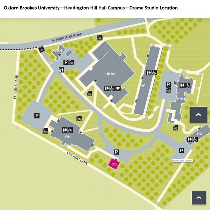 Oxford University Campus Map.Oxford Brookes University Drama Studio Oxford Contemporary Music